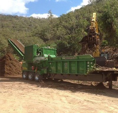 townsville treemulchas pty ltd truck clearing projects