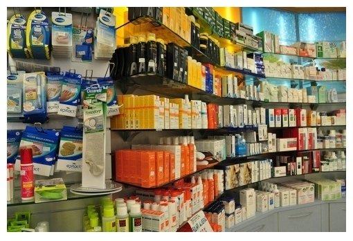 rivendita di articoli di farmacia