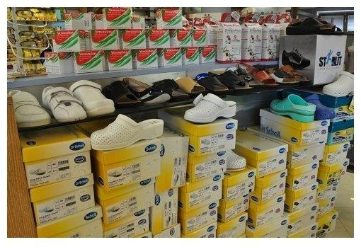 gamma di scarpe ortopediche