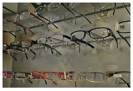 occhiali da vista con diverse montature