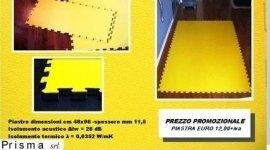 pavimento di sicurezza in pvc con isolamento acustico e termico