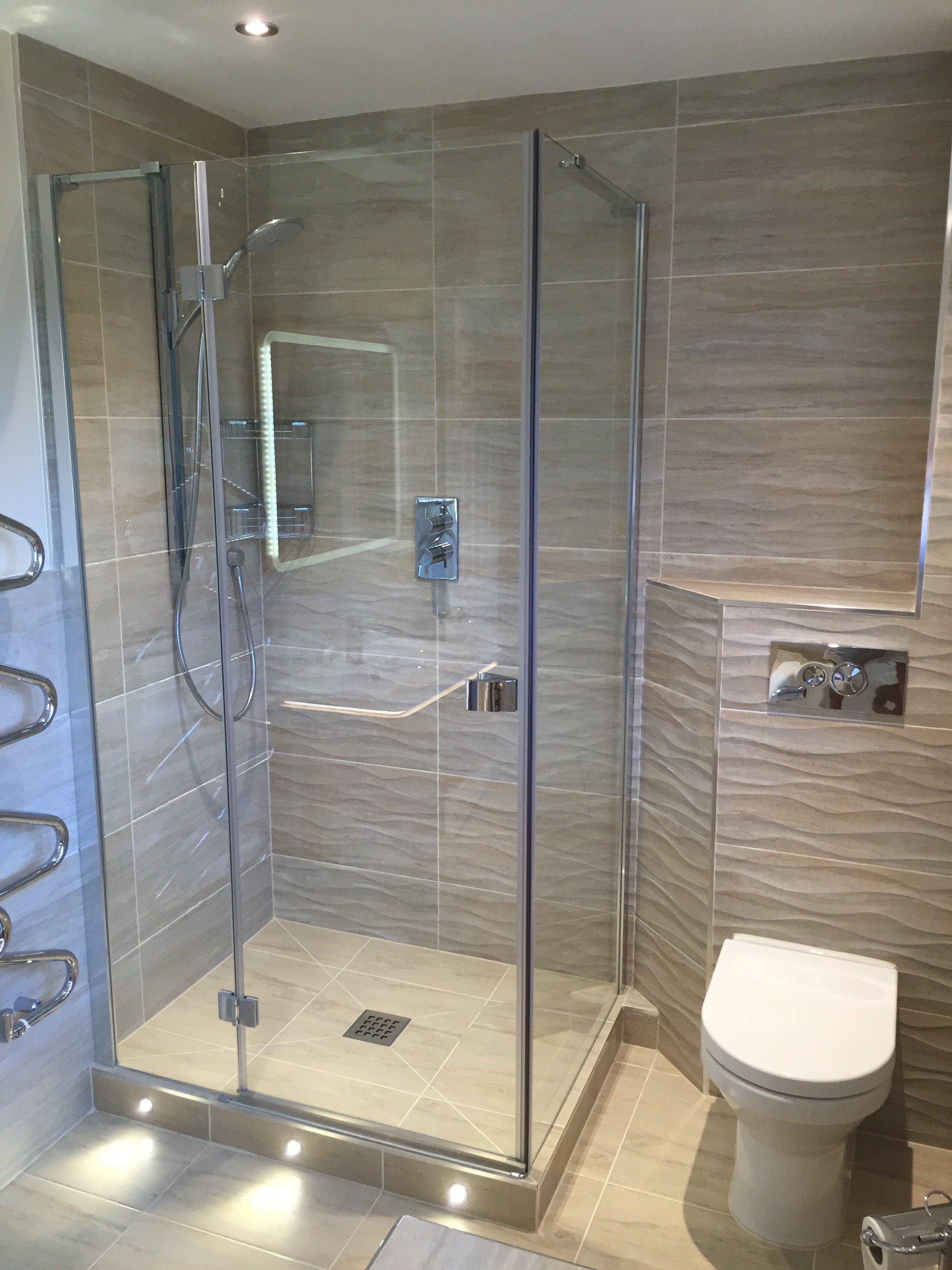 Modern Yet Practical Shower Room