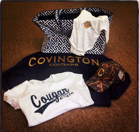 Custom apparel in Covington, VA
