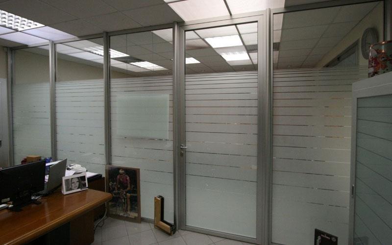 Pareti divisorie per interni brembate di sopra bergamo still alluminio serramenti sas - Isolamenti acustici per pareti interne ...