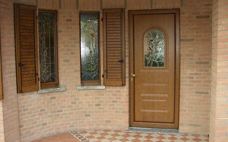 porta legno chiaro
