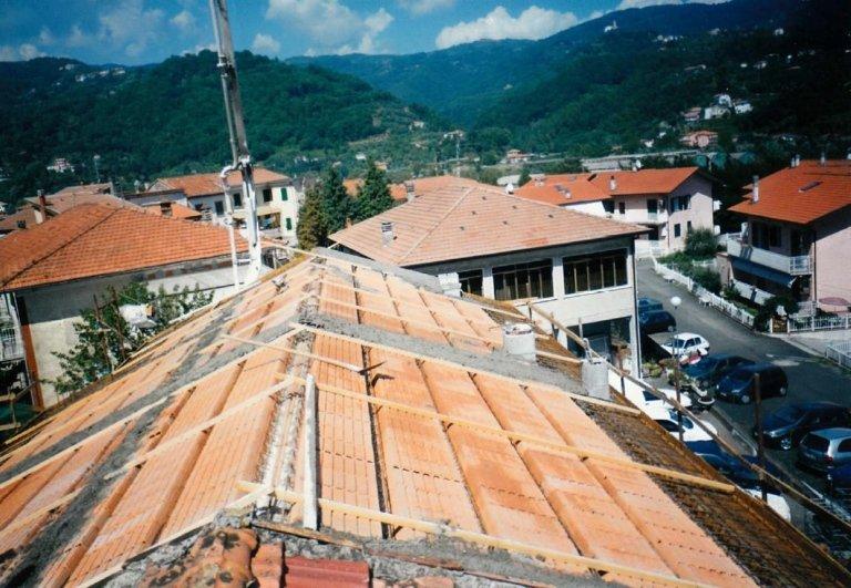 costruzione tetto Edilizia del Golfo La Spezia