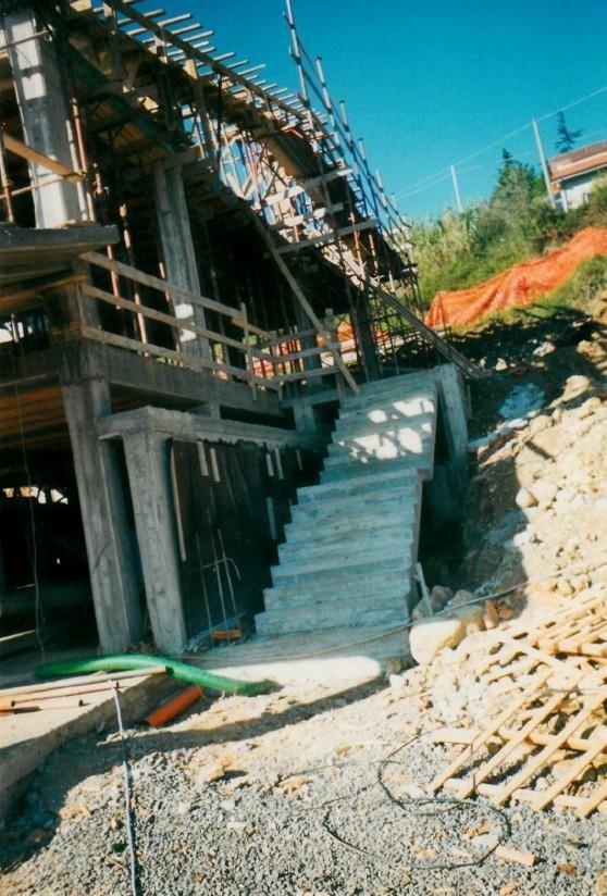 costruzione scala Edilizia del Golfo La Spezia