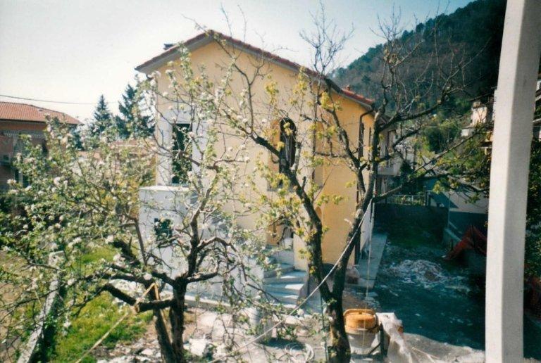 costruzione villa semindipendente