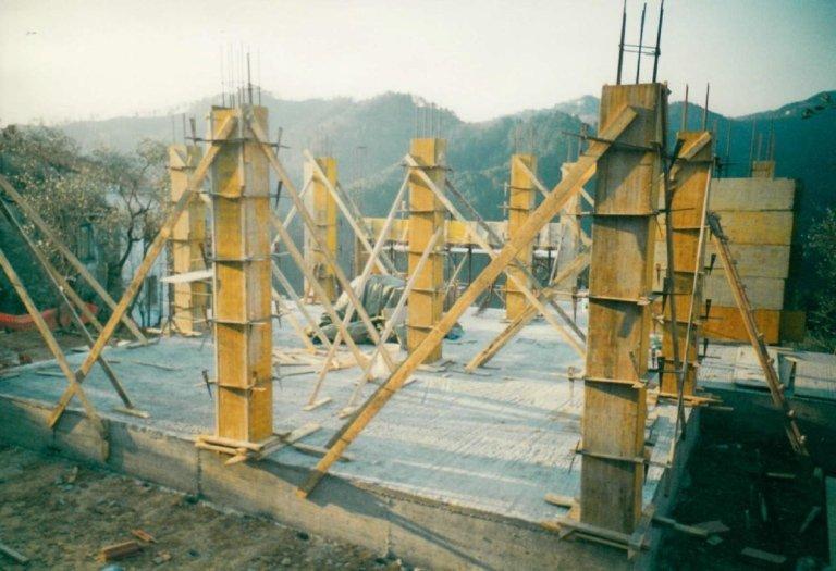 costruzione pilastri