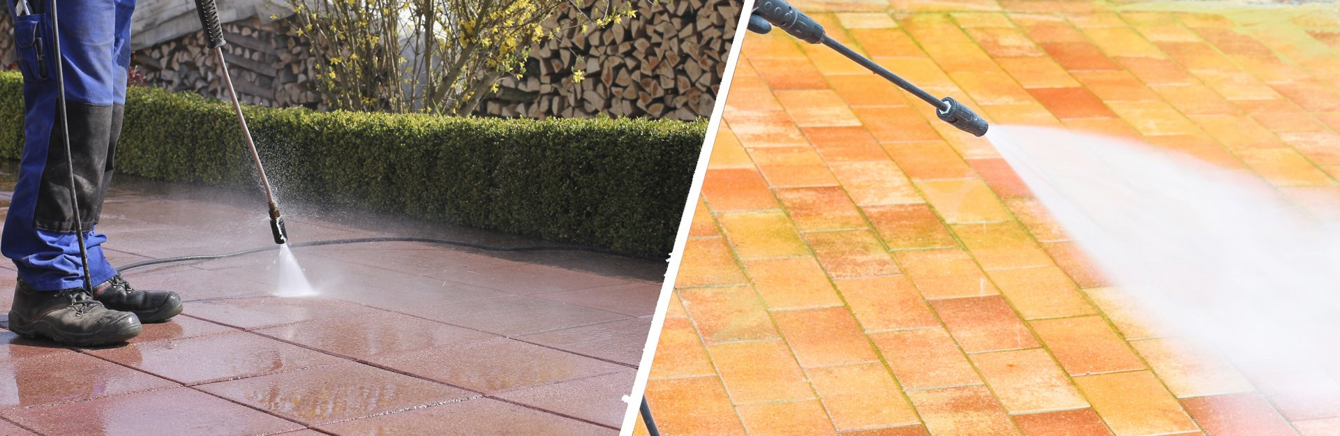 Patio cleaning repointing sealing from experts at all for Cleaning concrete patio slabs