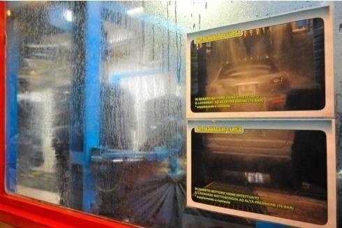 Sistema di pulizia auto