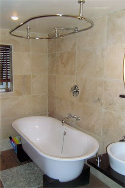 Modern minimalist bathroom