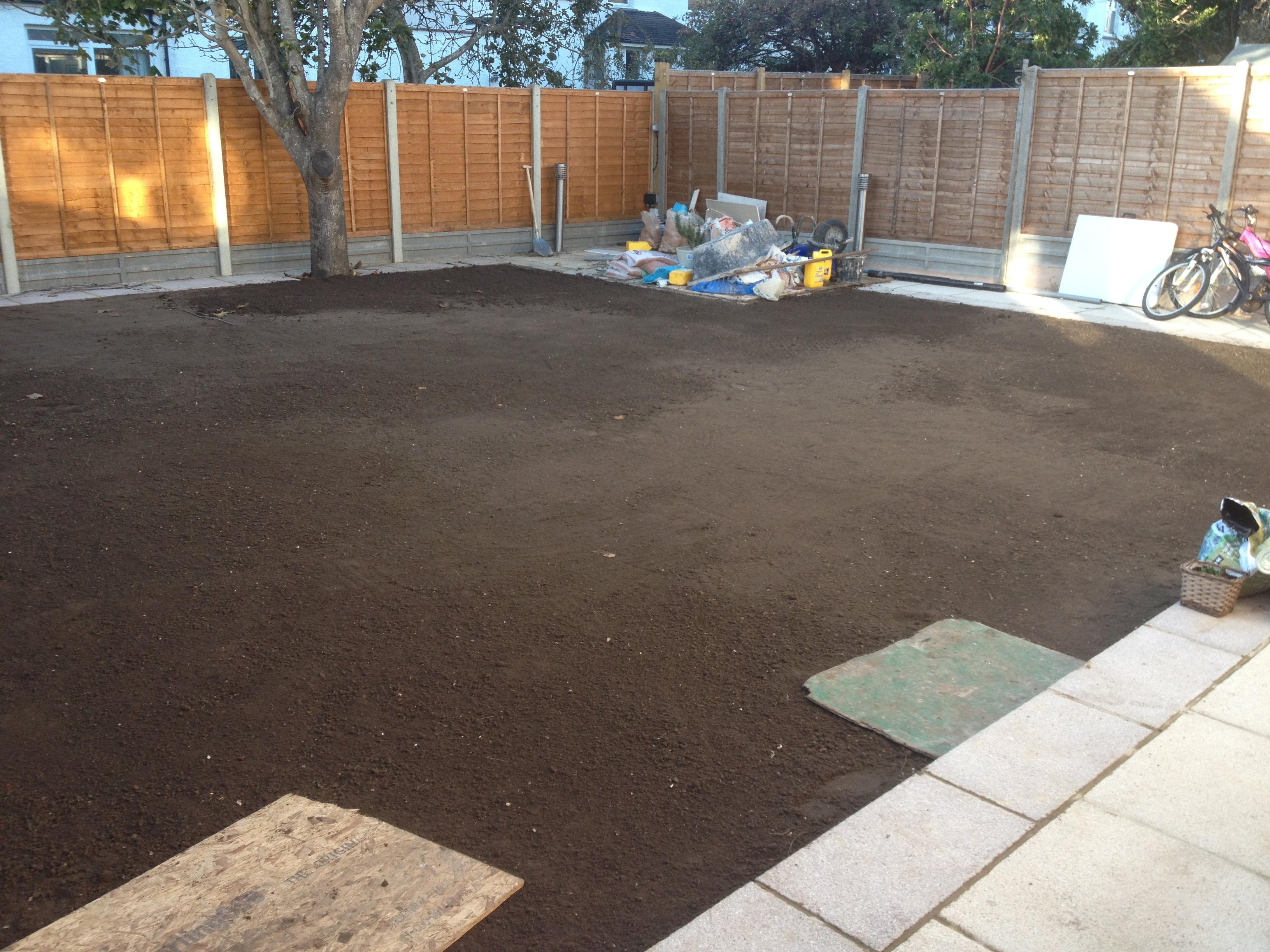 Garden site preparation