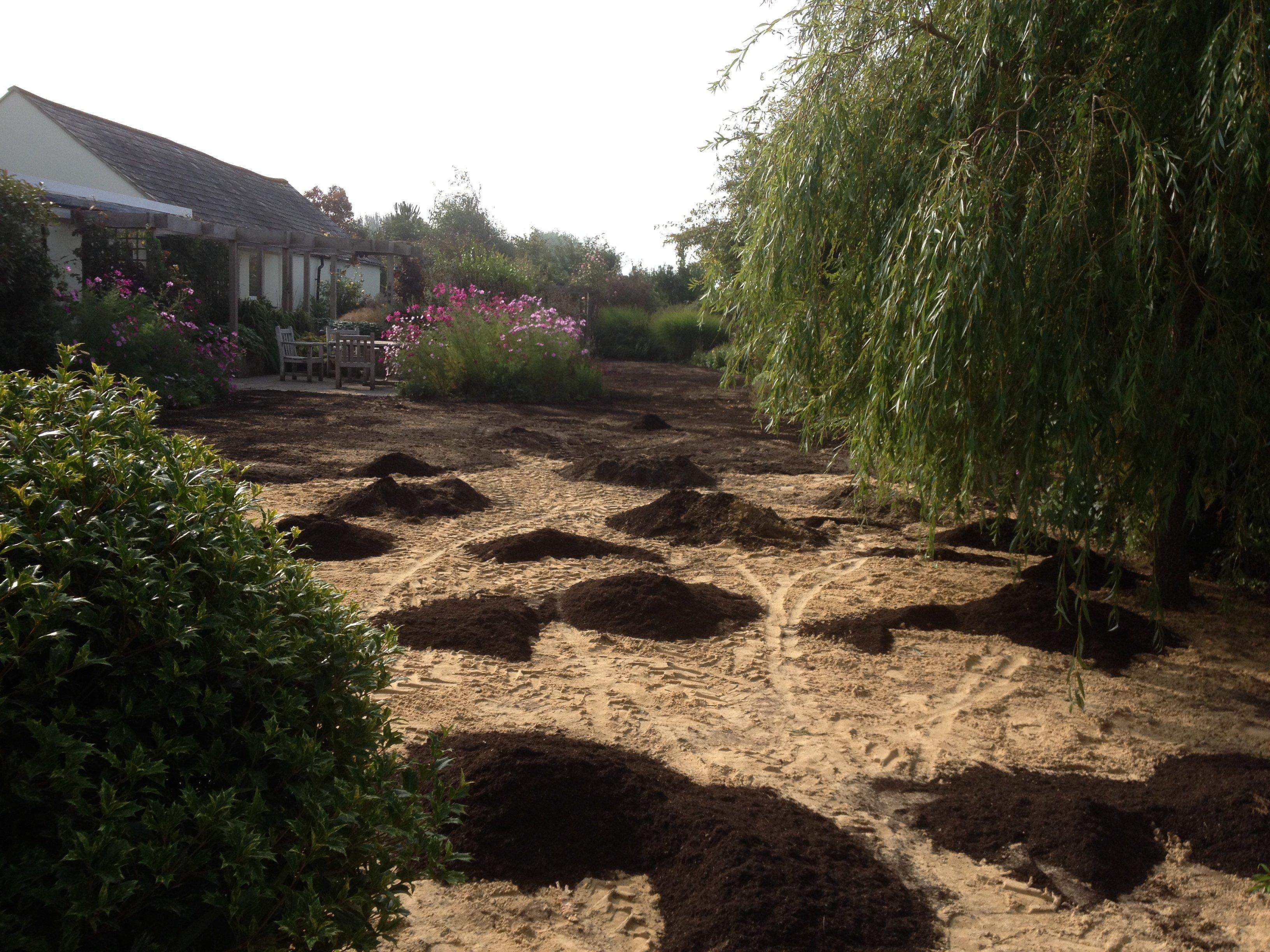 Garden ground preparation