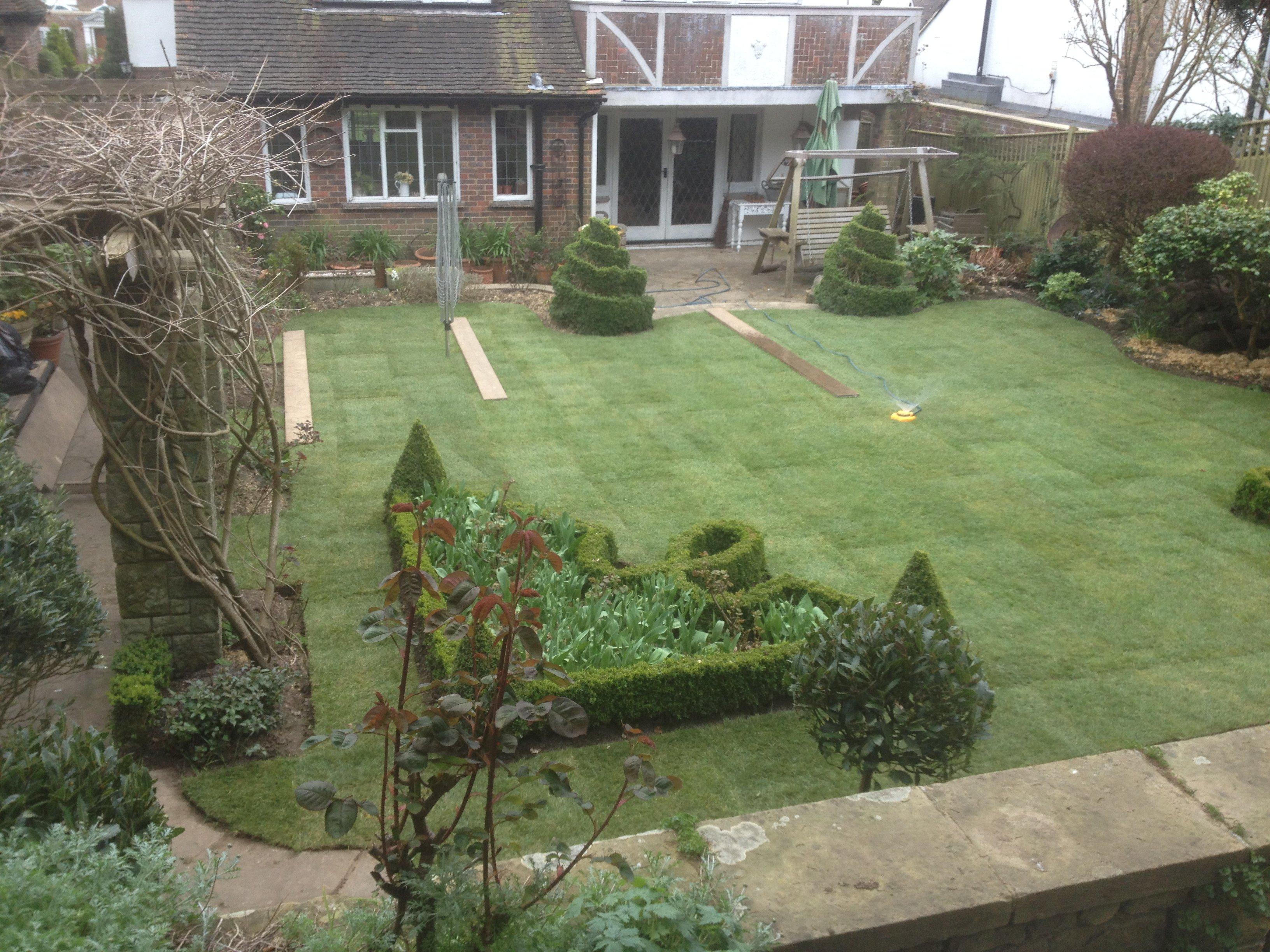 Ornate garden designs