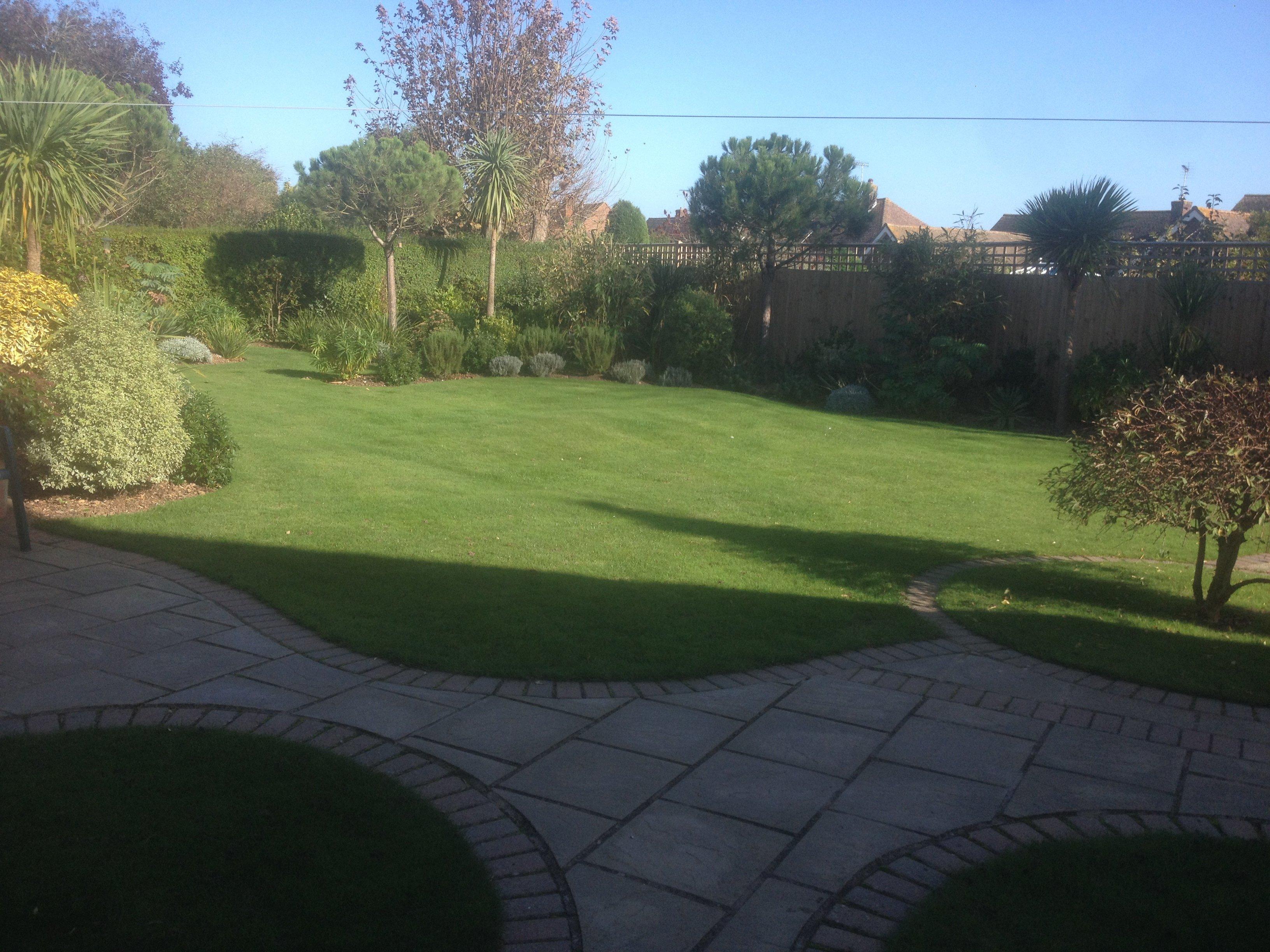 Luxurious garden care