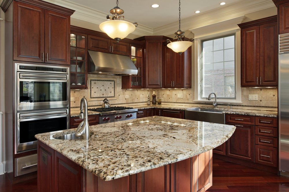 We also offer quality cabinetry and countertops!  Stop in and see all of your options for completing your interior cabinetry options.