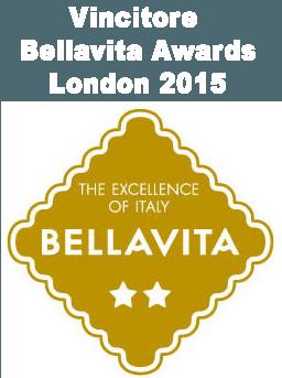 Vincitore  Bellavita Awards London 2015
