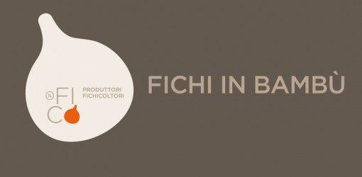 insegna pubblicitaria dei fichicoltori FICHI IN BAMBU