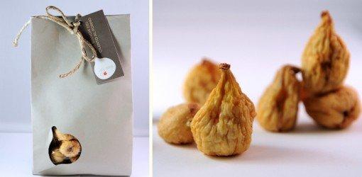 confezione regalo dei fichi bianchi al forno
