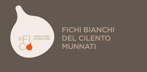 insegna pubblicitaria dei fichicoltori FICHI BIANCHI DEL CILENTO MUNNATI