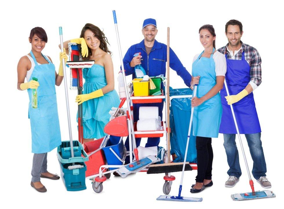 Divise settore pulizie