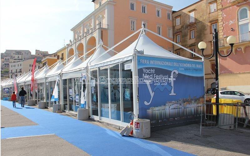 Yacht Med festival 2015 tensostrutture
