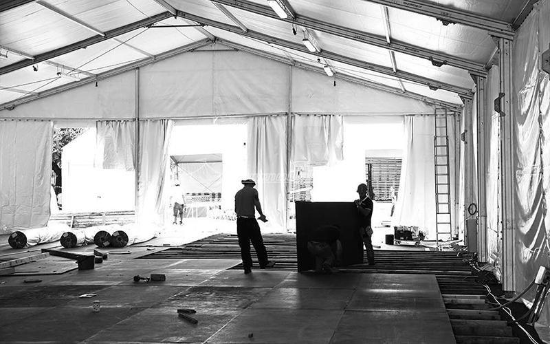 Promonoleggi tensostruttura Maker Faire Rome 2015