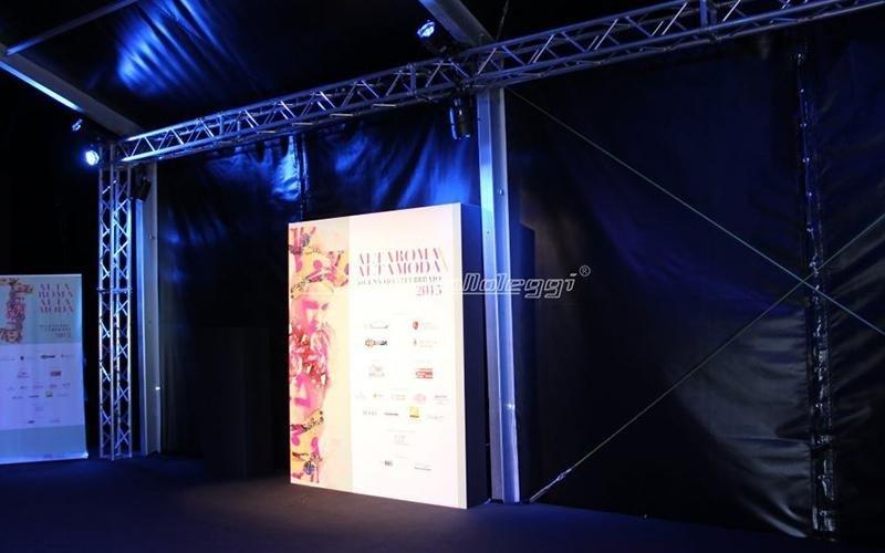Alta moda 2015 realizzazioni Promonoleggi roma