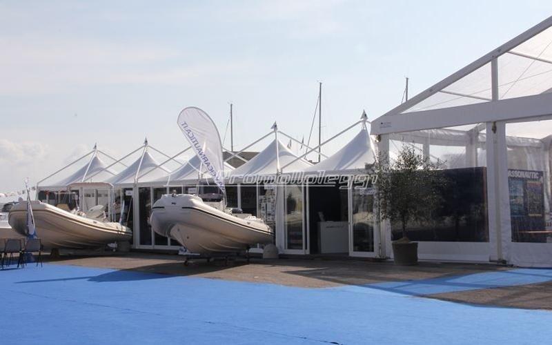 Yacht Med festival edizione 2015 tensostruttura