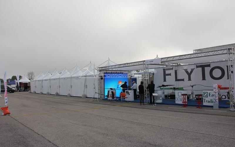Realizzazione TEndoni Roma Drone 2015