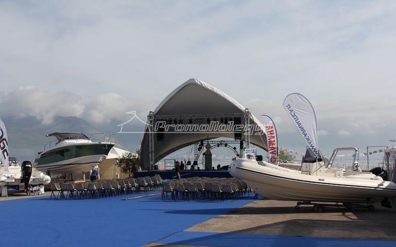Yacht Med festival edizione 2015 strutture