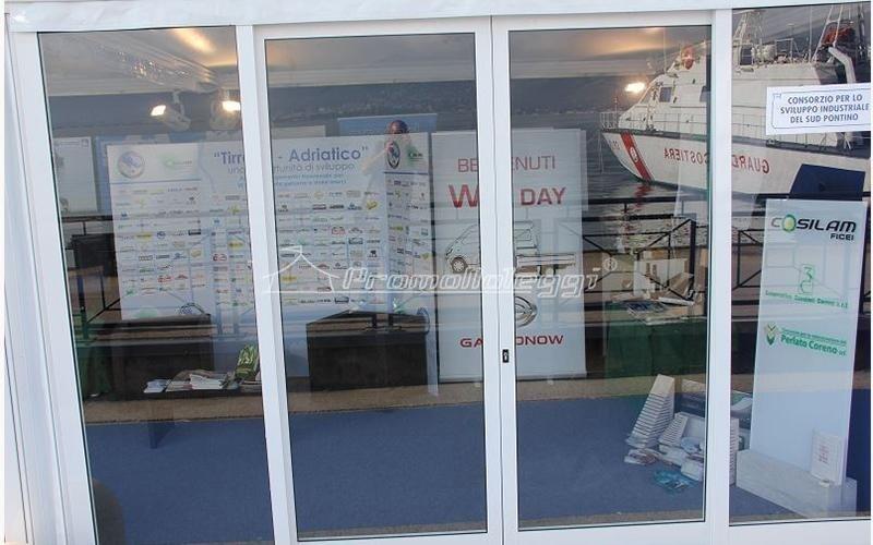 Yacht Med festival 2015 tensostrutture in esterno
