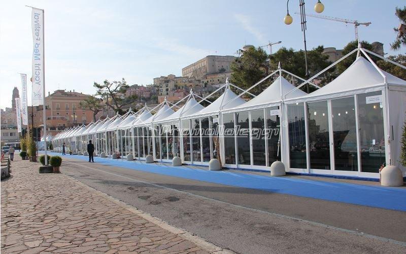 Struttura accoglienza Yacht Med festival 2015