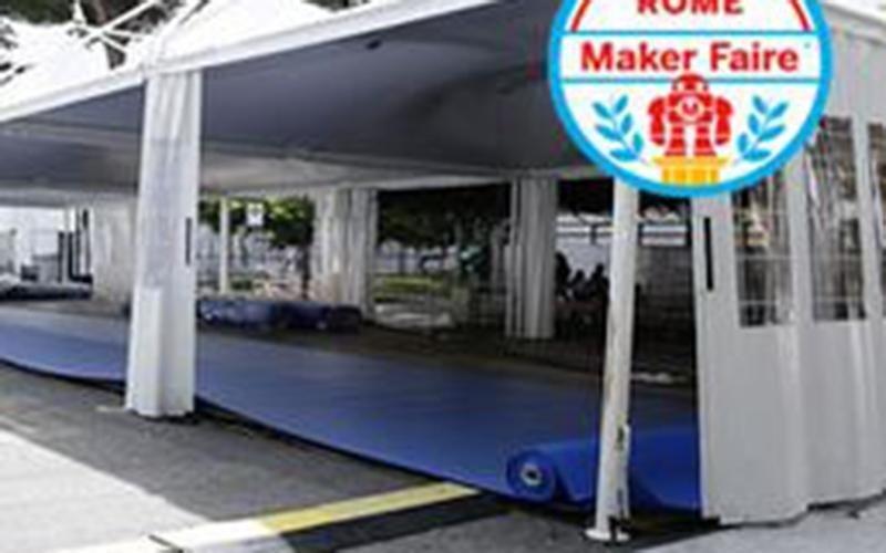 Promonoleggi Maker Faire Rome 2015 tensostruttura