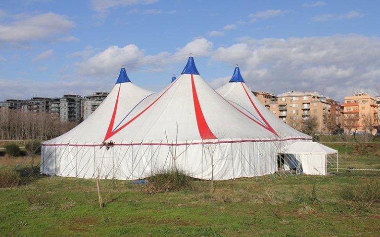tenda per circo roma