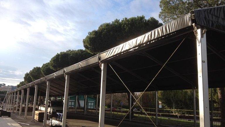 Tendostruttura a roma a noleggio