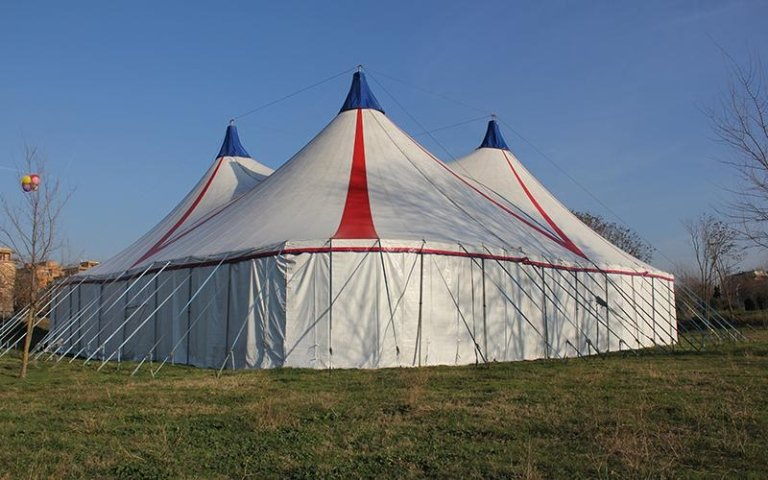 Installazione tenda da circo lazio