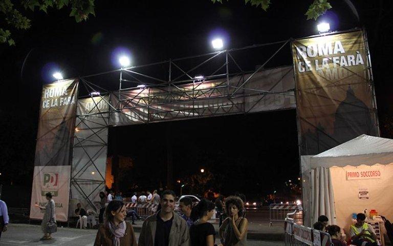 Posa strutture Layher roma