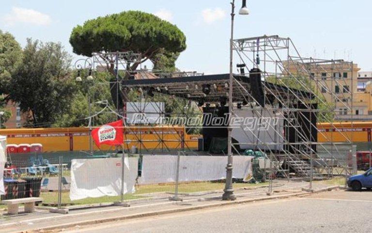 Installazione Layher roma
