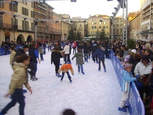 pavimentazione per pista ghiaccio