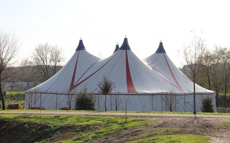 tenda per circo lazio