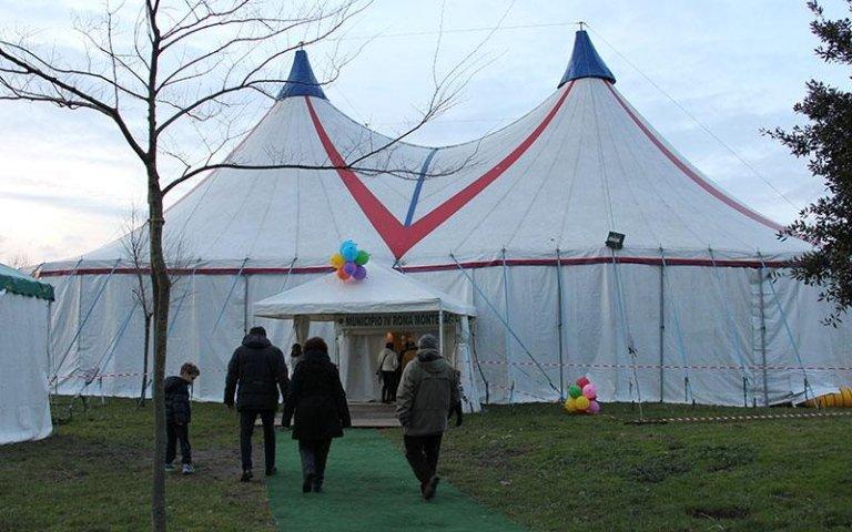 tenda da circo roma