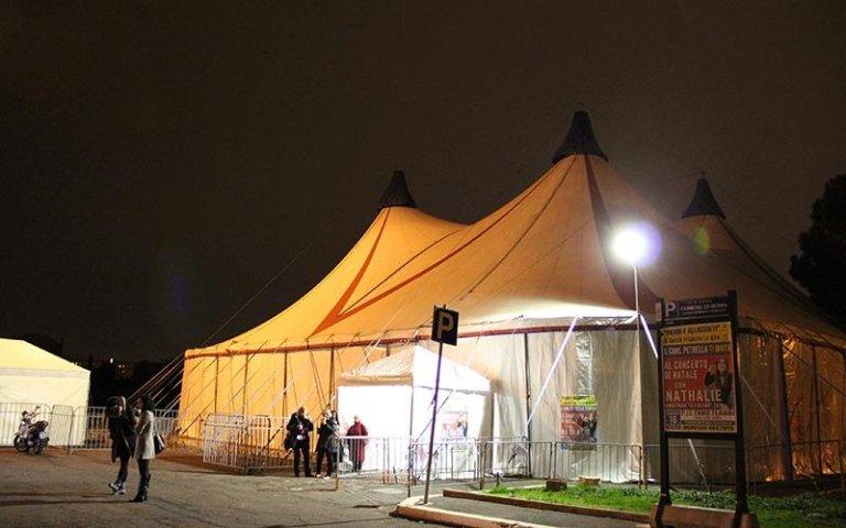 tenda per circo italia