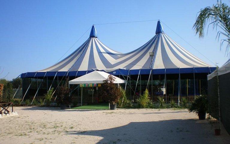 TEnda da circo Italia