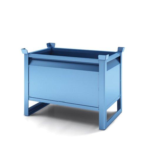 contenitore con pareti lisce per svuotamento rapido primo modello