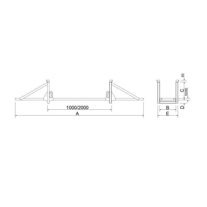 struttura porta barre
