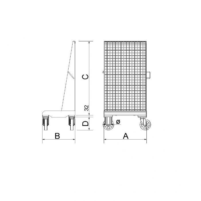 struttura porta corone