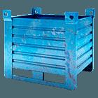 contenitore usato blu