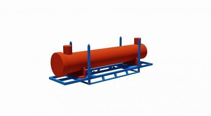 struttura porta scambiatore di calore